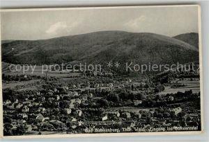 AK / Ansichtskarte Bad Blankenburg Panorama mit Schwarzatal Kat. Bad Blankenburg