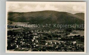 AK / Ansichtskarte Bad Blankenburg Panorama Schwarzatal Kat. Bad Blankenburg