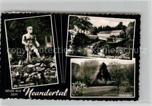 AK / Ansichtskarte Ratingen Neandertal Neanderhoehle Haus Rabenstein Kat. Ratingen