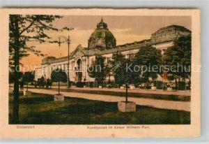 AK / Ansichtskarte Duesseldorf Kunstpalast Kaiser Wilhelm Park Kat. Duesseldorf