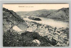 AK / Ansichtskarte Bacharach Rhein Panorama Kat. Bacharach