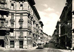 AK / Ansichtskarte Genova Genua Liguria Via XX Settembre Kat. Genova