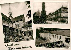 AK / Ansichtskarte Loccum Kloster Innenhof Konventsgebaeude Evangelische Akademie Kat. Rehburg Loccum