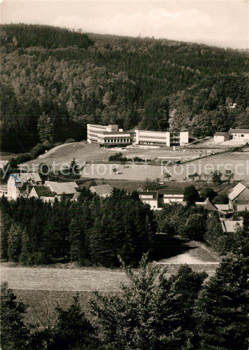 AK / Ansichtskarte Gras Ellenbach Fliegeraufnahme Heinrich Gluecklich Haus Kat. Grasellenbach