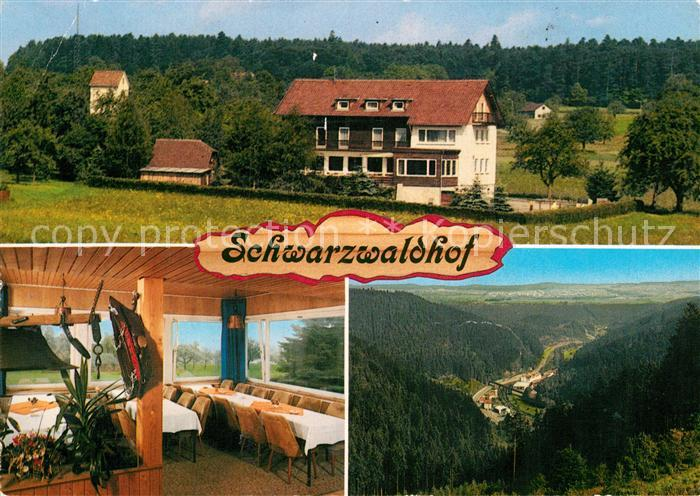 AK / Ansichtskarte Bad Teinach Zavelstein Gasthaus Pension Schwarzwaldhof Kat. Bad Teinach Zavelstein