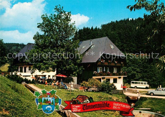AK / Ansichtskarte Grafenhausen Schwarzwald Schwarzwaldgasthof Tannenmuehle Kat. Grafenhausen