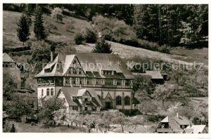 AK / Ansichtskarte Bad Liebenzell Missionshaus Kat. Bad Liebenzell