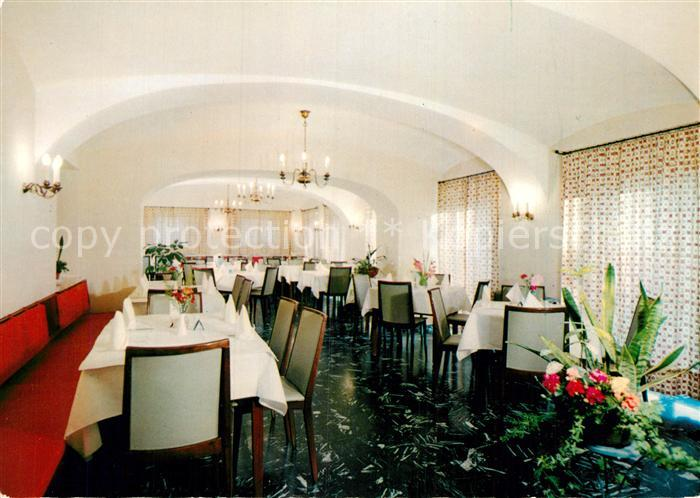 AK / Ansichtskarte Villach Kaernten Warmbad Hotel Josefinenhof Speisesaal  Kat. Villach 0
