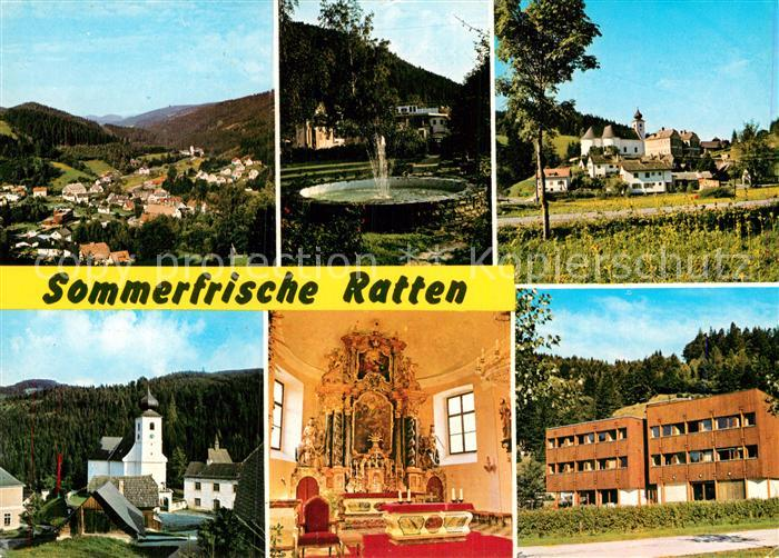 AK / Ansichtskarte Ratten Kirche  Kat. Ratten