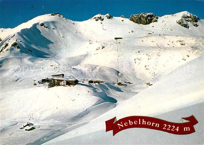 AK / Ansichtskarte Nebelhorn Wintersportplatz Allgaeuer Alpen Kat. Oberstdorf
