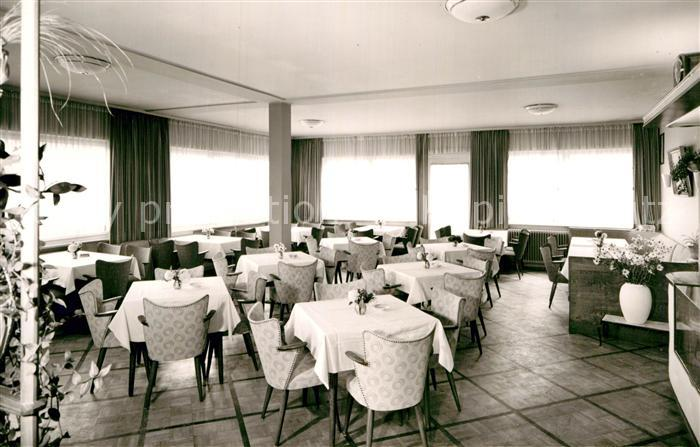 AK / Ansichtskarte Luetzenhardt Kurhotel Sonnenhof Speisesaal / Luetzenhardt /Freudenstadt LKR