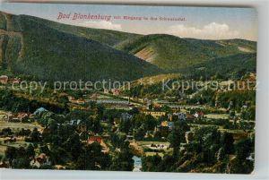 AK / Ansichtskarte Bad Blankenburg Panorama im Schwarzatal Kat. Bad Blankenburg