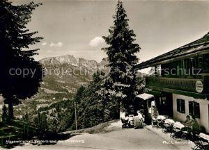 AK / Ansichtskarte Vorderbrand Alpenwirtschaft Untersberg  Kat. Berchtesgaden