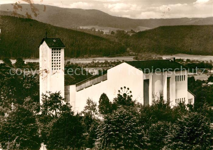 AK / Ansichtskarte Bad Sooden Allendorf St. Bonifatius Kirche Kat. Bad Sooden Allendorf