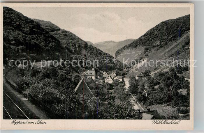 AK / Ansichtskarte Boppard Rhein Muehlbachtal Kat. Boppard