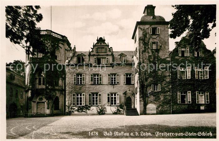 AK / Ansichtskarte Bad Nassau Freiherr von Stein Schloss  Kat. Nassau Lahn