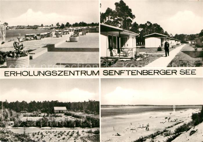 AK / Ansichtskarte Senftenberg Niederlausitz Erholungszentrum Senftenberger See Bungalows Strand Kat. Senftenberg