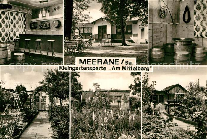 AK / Ansichtskarte Meerane Kleingartensparte Am Mittelberg  Kat. Meerane