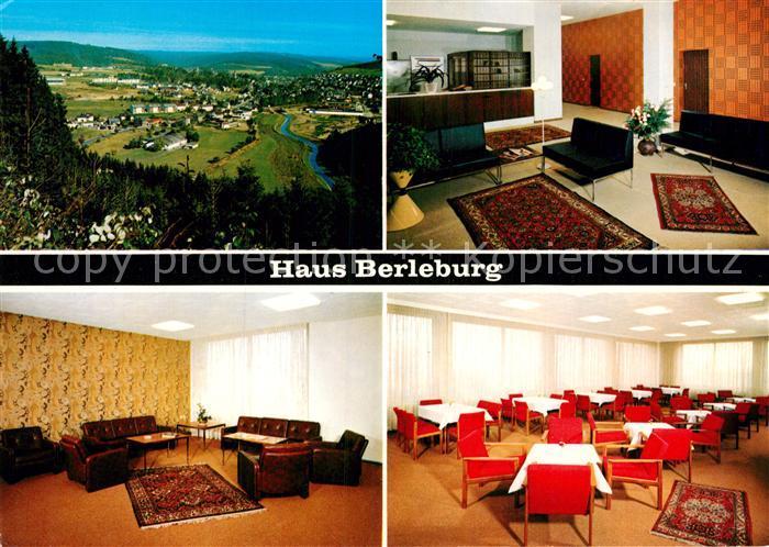 AK / Ansichtskarte Bad Berleburg Haus Berleburg  Kat. Bad Berleburg