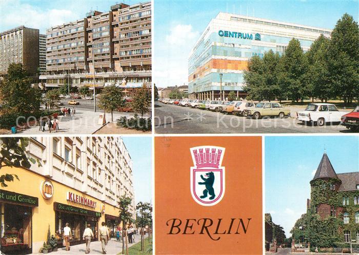 AK / Ansichtskarte Berlin Karl Liebknecht Strasse Centrum Warenhaus Bahnhof Nikolaiviertel Kleinmarkt Hauptstadt der DDR Kat. Berlin