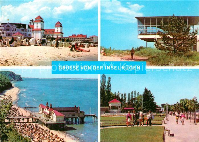 AK / Ansichtskarte Insel Ruegen Binz Baabe Sellin Goehren Kat. Bergen