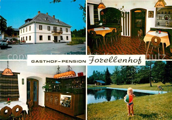 AK / Ansichtskarte Grafenstein Kaernten Gasthof Forellenhof Kat. Grafenstein