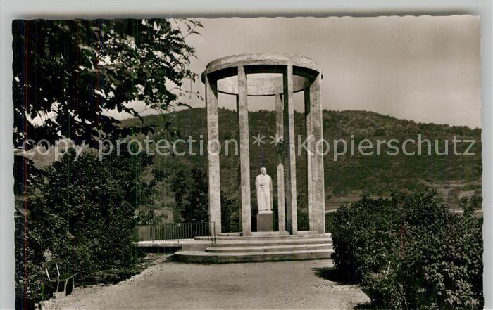 AK / Ansichtskarte Nassau Bad Denkmal Freiherr vom und zum Stein Kat. Nassau Lahn
