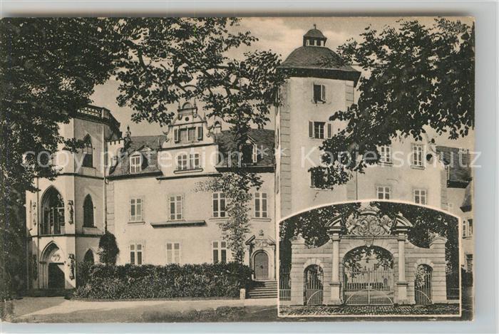 AK / Ansichtskarte Nassau Bad Schloss Geburtshaus Freiherr vom und zum Stein Kat. Nassau Lahn