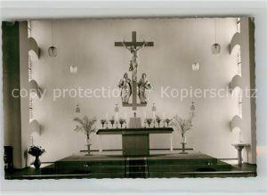 AK / Ansichtskarte Monzelfeld Katholische Pfarrkirche   Kat. Monzelfeld