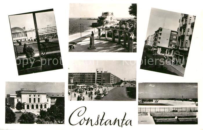 AK / Ansichtskarte Constanta Teilansichten Strand Promenade Kat. Constanta