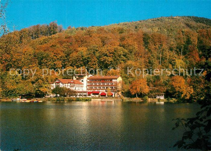 AK / Ansichtskarte Bad Lauterberg Kurhotel Wiesenbeker Teich  Kat. Bad Lauterberg im Harz