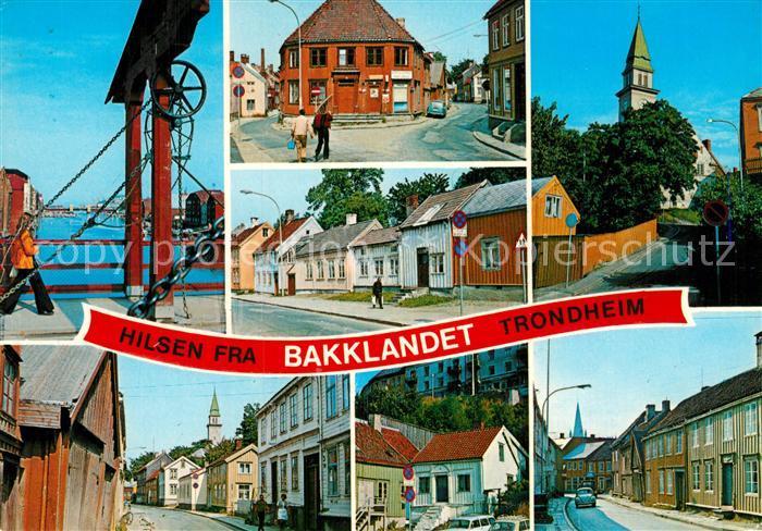 AK / Ansichtskarte Trondheim Bakklandet Kat. Trondheim