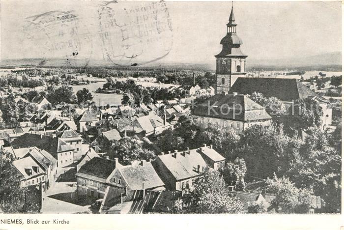 AK / Ansichtskarte Niemes Blick zur Kirche Kat. Tschechische Republik