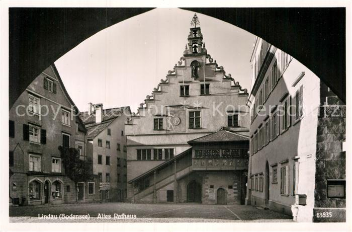 AK / Ansichtskarte Lindau Bodensee Altes Rathaus Kat. Lindau (Bodensee)