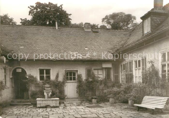 AK / Ansichtskarte Jena Thueringen Goethe Inspektorhaus am Botanischen Garten