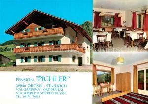 AK / Ansichtskarte Ortisei St Ulrich Pension Pichler