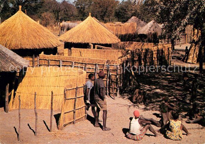 AK / Ansichtskarte Maun Bushman Curio Shop