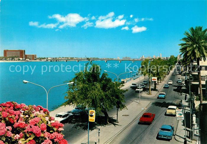 AK / Ansichtskarte Baghdad Bagdad Aboo Nowas Street  Kat. Baghdad