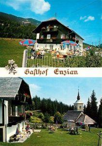AK / Ansichtskarte St Stefan Gailtal Alpengasthof Zum Enzian Kat. St. Stefan im Gailtal
