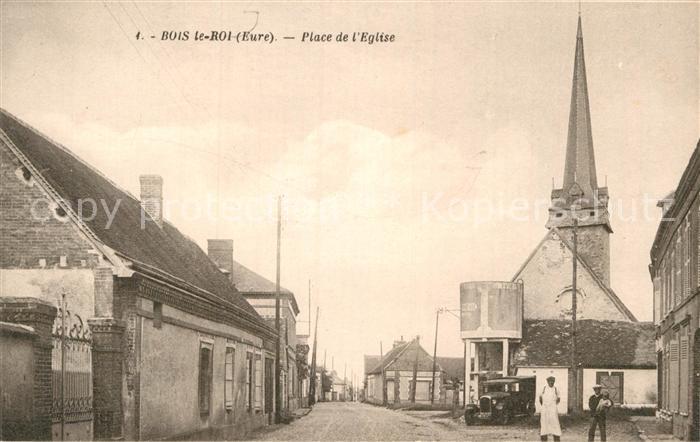 AK / Ansichtskarte Bois le Roi Eure Place de Eglise  Kat. Bois le Roi
