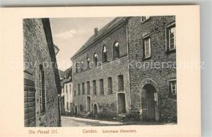 AK / Ansichtskarte Carden Zehnthaus Mosel III