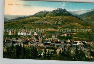 AK / Ansichtskarte Blankenburg Bad Schwarzatal Panorama Kat. Bad Blankenburg