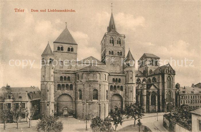 AK / Ansichtskarte Trier Dom Liebfrauenkirche Kat. Trier