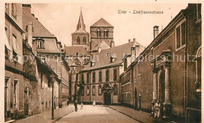 AK / Ansichtskarte Trier Liebfrauenkirche Kat. Trier
