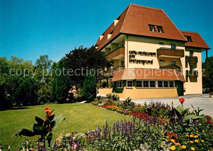 AK / Ansichtskarte Kressbronn Bodensee Strandhotel Kressbronn Cafe Am Kretzergrund Kat. Kressbronn am Bodensee