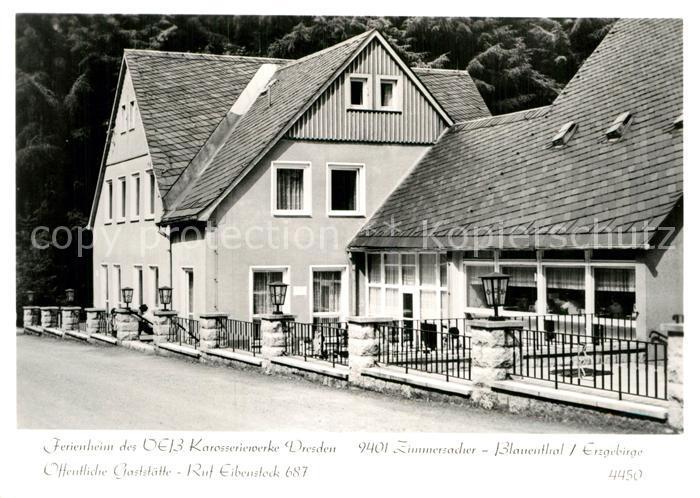 AK / Ansichtskarte Zimmersacher Ferienheim