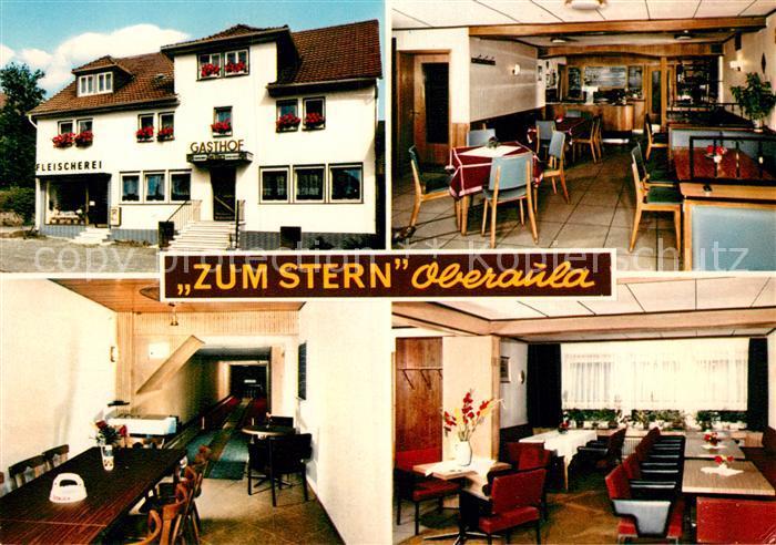 AK / Ansichtskarte Oberaula Gasthaus Zum Stern Kat. Oberaula