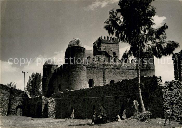 AK / Ansichtskarte Gondar Burg erbaut von Kaiser Fasil 17. Jhdt. Karawane Studienreisen