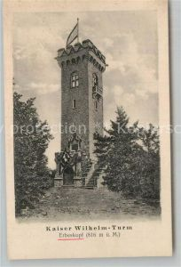 AK / Ansichtskarte Erbeskopf Kaiser Wilhelm Turm Kat. Biebern