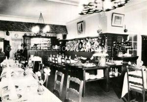 AK / Ansichtskarte Bruxelles Bruessel Taverne Restaurant Pension des 3 Tilleuls Kat.